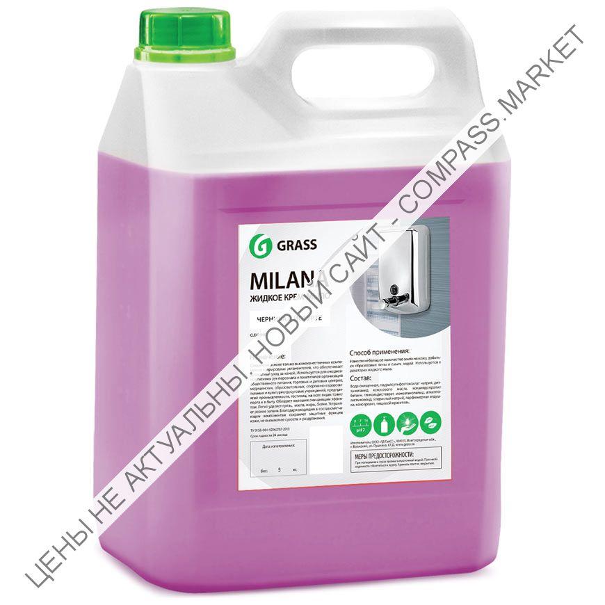 Жидкое мыло MILANA черника в йогурте 5л