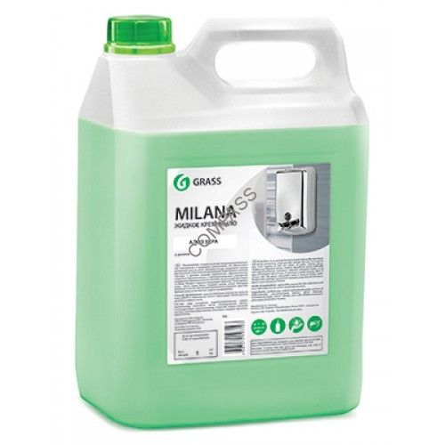 Жидкое мыло MILANA алоэ вера 5л