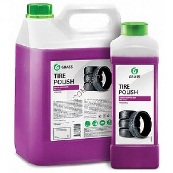 Полироль для шин Tire Polish  GRASS 1л; 6кг.