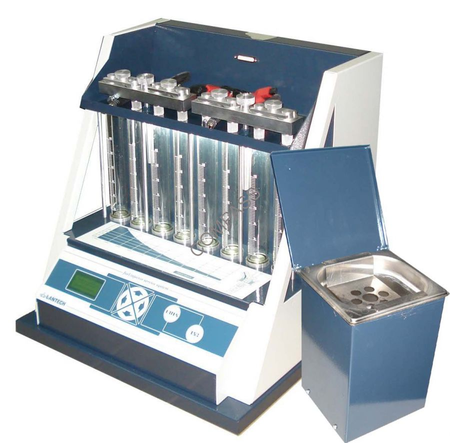 Установка для ультразвуковой очистки форсунок LUC-308