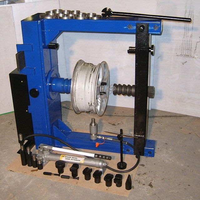 Стенд для правки литых дисков модель 603A
